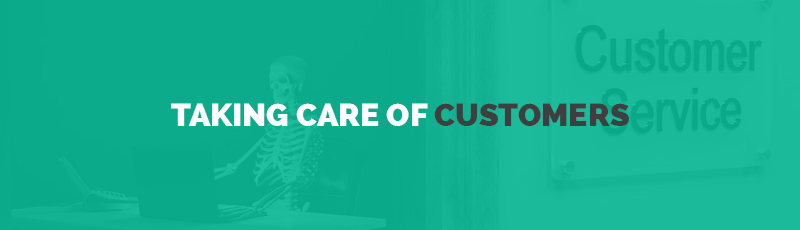 How does 'Good Customer Service' take shape?